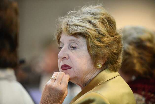 Regents member Kathleen M. Cashin listens to comments during a board meeting Monday afternoon, May 18, 2015, at the State Education Building in Albany, N.Y. (Will Waldron/Times Union) Photo: WW