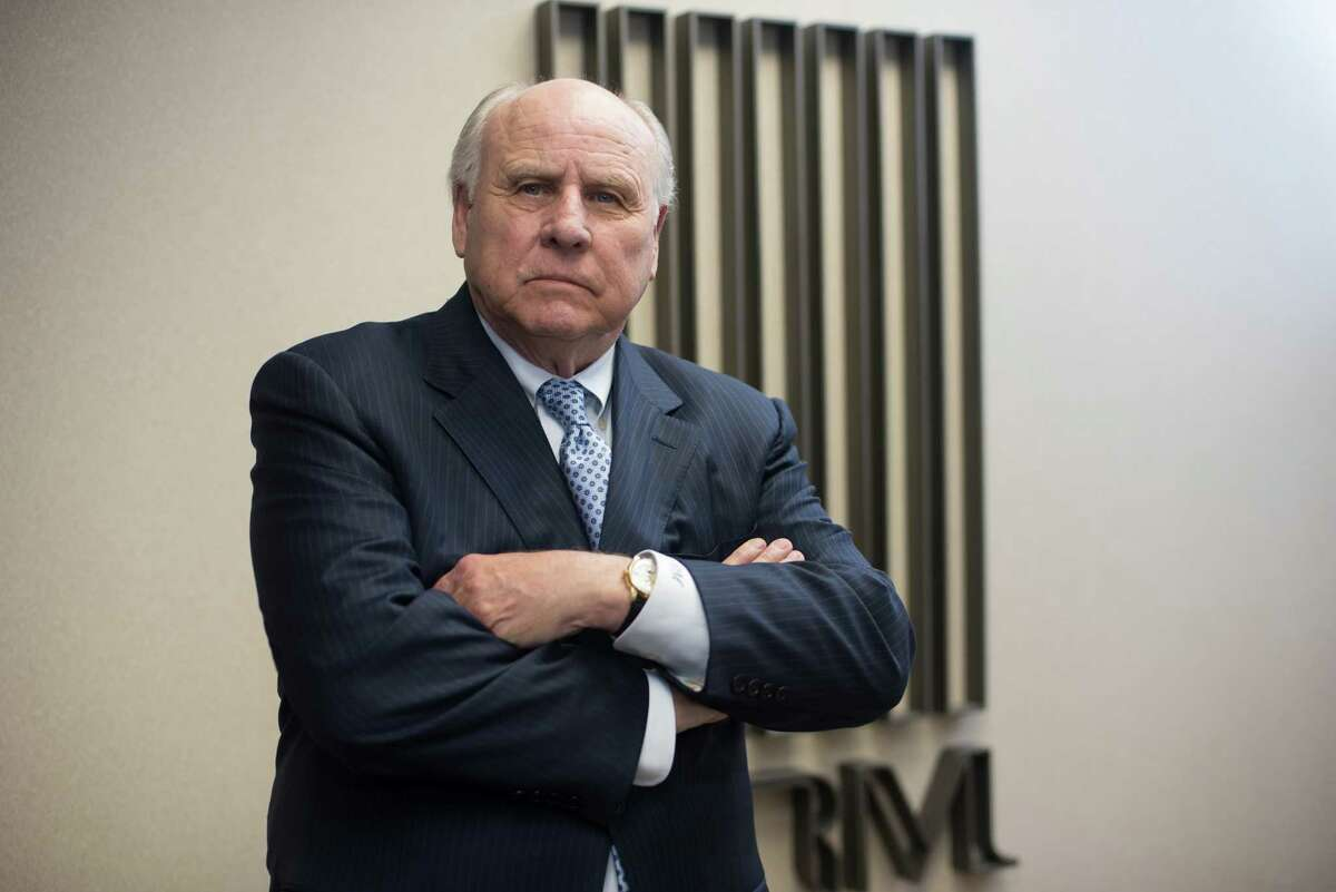 Don Mullins of Don R. Mullins Interests in his Houston office on Tuesday, June 9, 2015