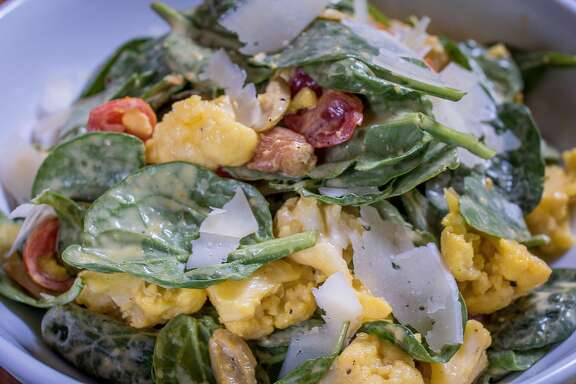 The Cauliflower Salad at Ba_Bite in Oakland, Calif., is seen on June 12th, 2015.