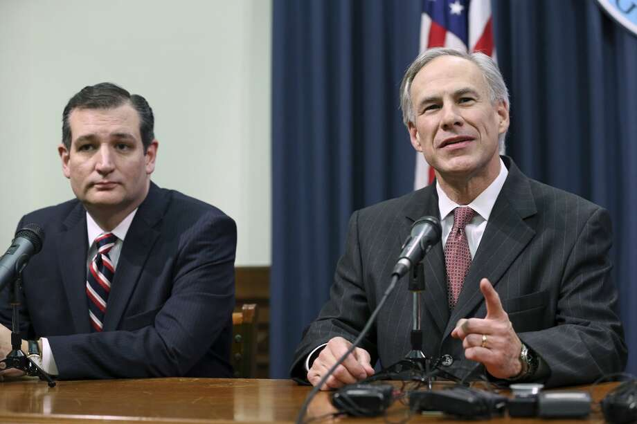 Experts said Texas Gov. Greg Abbott's endorsement of Texas Sen. Ted Cruz for president was long expected. It's impact may be marginal but crucial they said.  Photo: Tom Reel, San Antonio Express-News