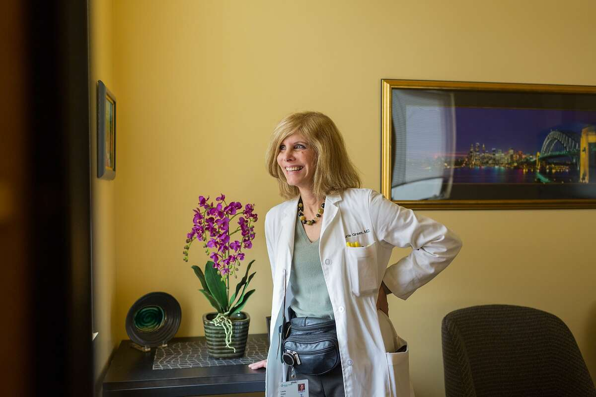 Dr. Laurie Green, SF OB-GYN, MAVEN founder and past president of the Harvard Medical School Alumni Association at her practice in San Francisco, Calif., Saturday June 13, 2015.