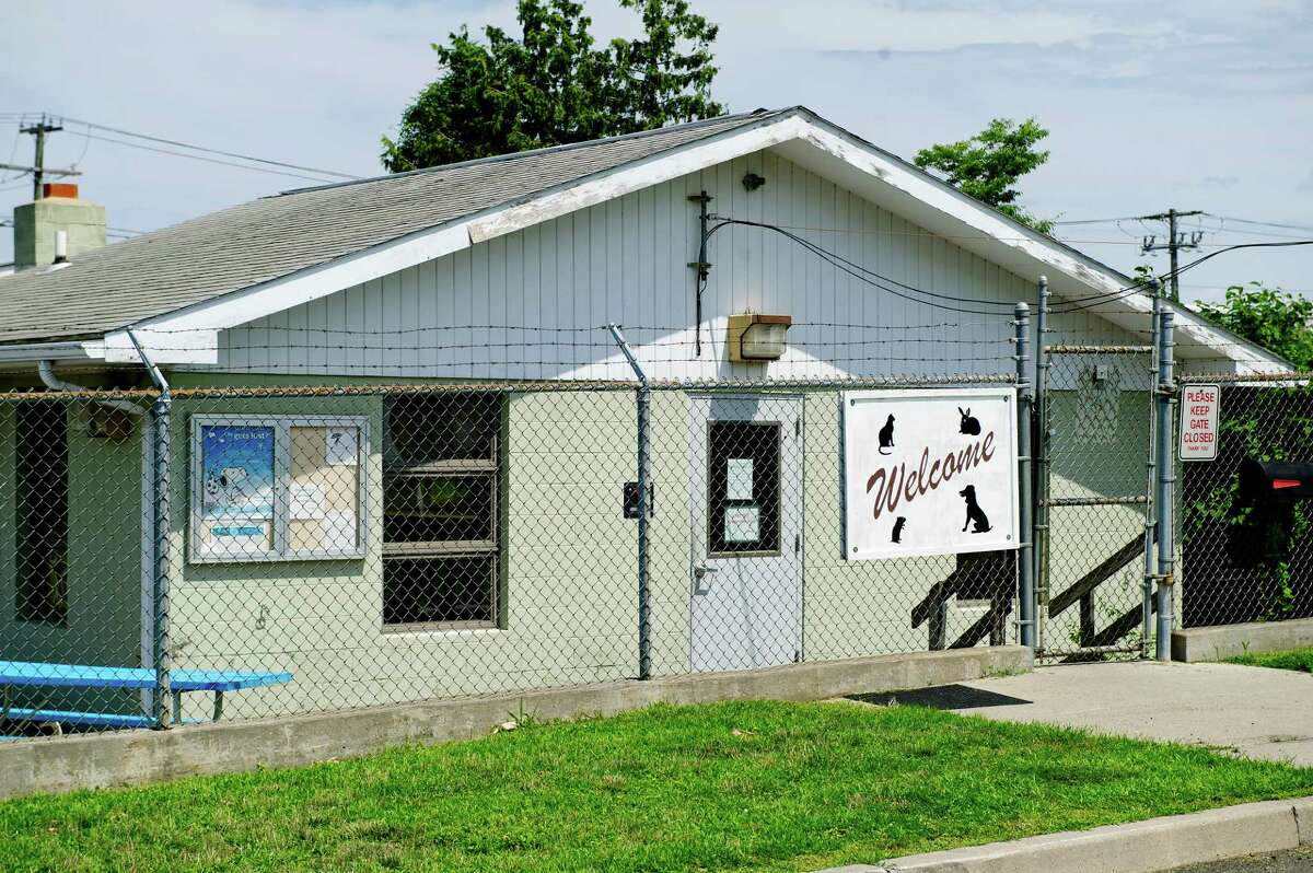 The Stamford Animal Control Center on Magee Avenue. The city's Legislative and Rules Committee on Monday will review a proposal to update the city's animal welfare laws.