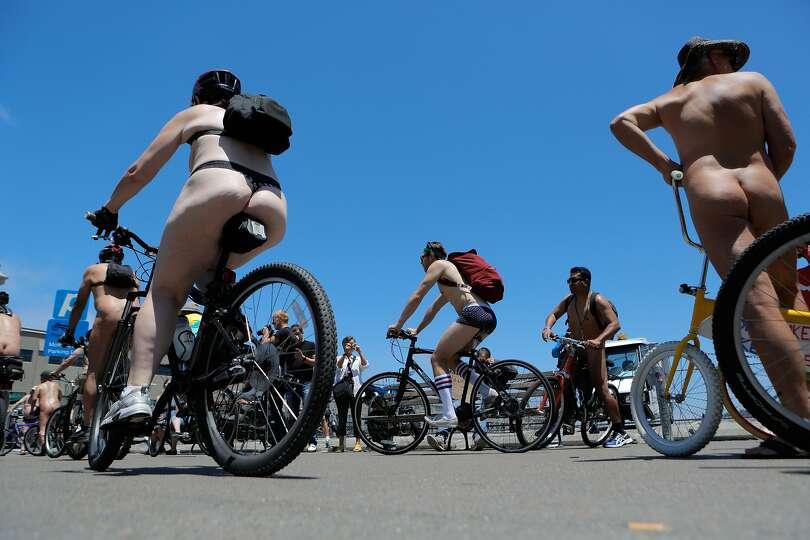 Naked bike ride san francisco foto 2