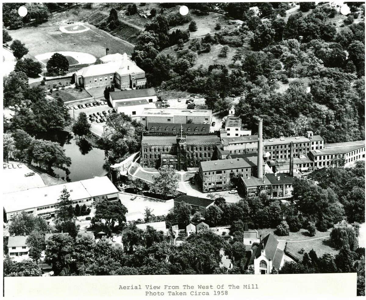 American Felt Company, Glenville, circa 1958. American Felt Company, Glenville, circa 1958.
