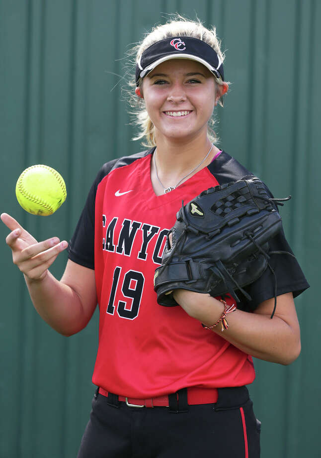 New Braunfels Canyon's Brooke Vestal poses for the Express-News All-Area softball team on June 3, 2015. Photo: Tom Reel /San Antonio Express-News / San Antonio Express-News