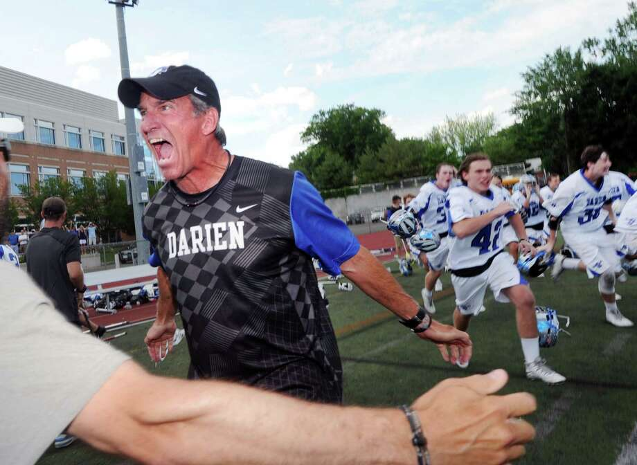 Darien High School went 20-3 and won the FCIAC and Class L championships Photo: Bob Luckey, Hearst Connecticut Media / Greenwich Time