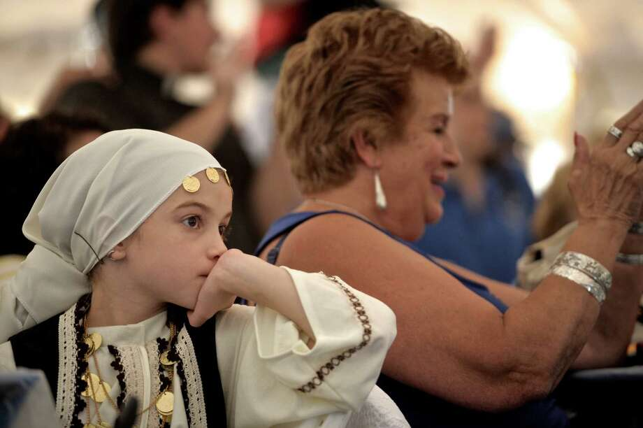 The Saint George Greek Festival is this Thursday, Friday, Saturday and Sunday. Enjoy traditional Greek dancing and authentic Greek food. Find out more.  Photo: H John Voorhees III / Hearst Connecticut Media / The News-Times