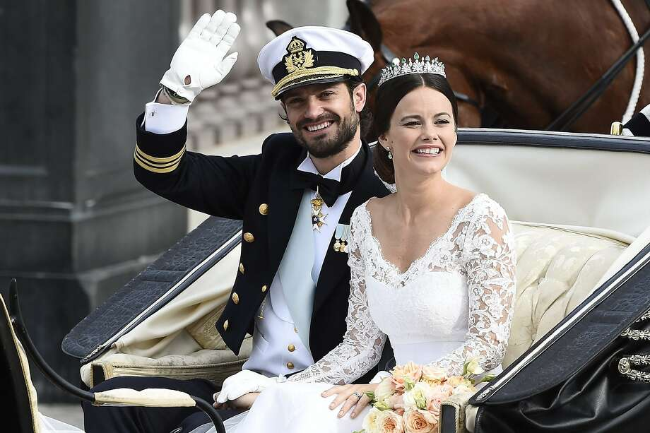 Sofia Hellqvist and Prince Carl Philip of Sweden Photo: Mikael Fritzon, Associated Press