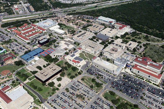 What the University of Texas at San Antonio main campus looked like in 2012.