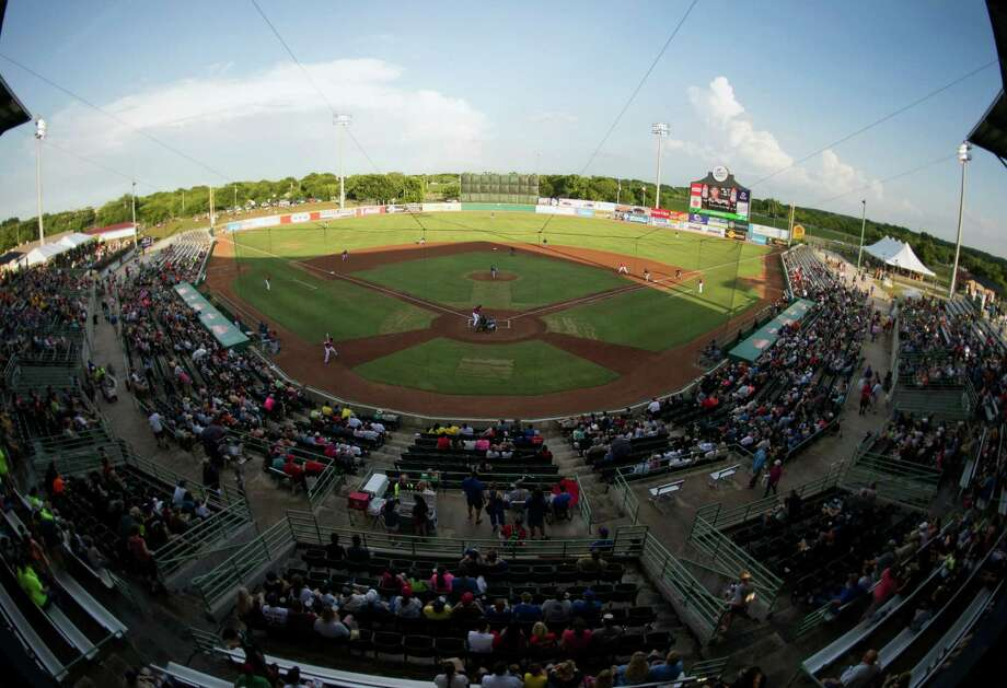 The Corpus Christi Hooks and San Antonio Missions play a Texas League game on June 13, 2015, at Nelson Wolff Stadium in San Antonio. San Antonio won 4-1. Photo: Darren Abate /For The Express-News / San Antonio Express-News