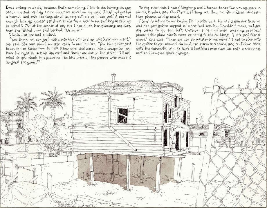Eviction series #1 Photo: Paul Madonna