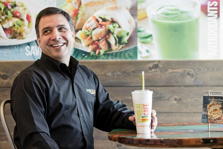 Mike Rotondo, pictured here with Tropical Smoothie Cafe, has been named the new CEO of Wallingford-based Edible Arrangements. Photo: Ray McCrea Jones