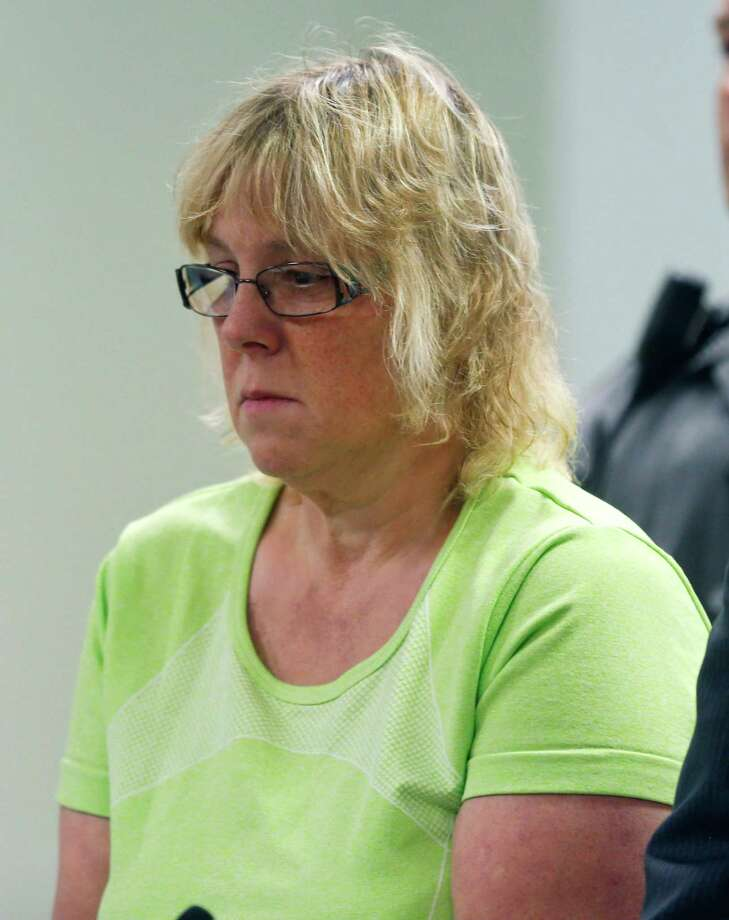 Joyce Mitchell is arraigned in City Court on Friday, June 12, 2015, in Plattsburgh, N.Y. Mitchell is accused of helping two convicted killers escape from Clinton Correctional Facility in Dannemora. (AP Photo/Mike Groll, Pool) Photo: Mike Groll / Pool, AP
