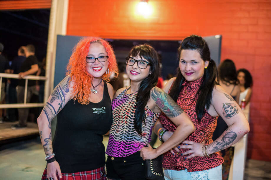 On Saturday, Girl in a Coma reunited for a show with Piñata Protest for a night of explosive S.A. style punk. Here are the fans that reveled in the debauched musical mayhem. Photo: By Chavis Barron And Isaiah Matthews/Solarshot