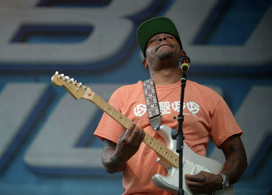 Scarface performs at the Houston Beer Festival at Hermann Square Park Sunday, June 14, 2015, in Houston. Photo: Jon Shapley, Houston Chronicle / © 2015 Houston Chronicle