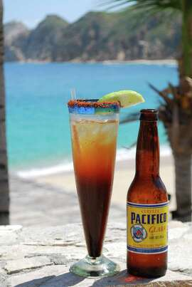 Pacifico by the sea on Los Cabos.