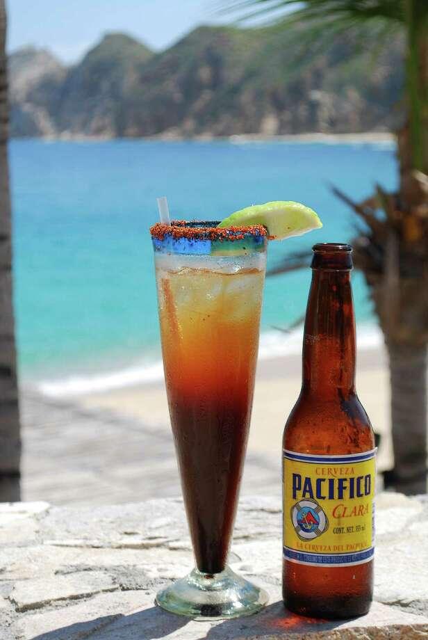 Pacifico by the sea on Los Cabos. Photo: Maribeth Mellin