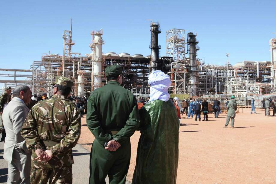 A gas plant in Ain Amenas, Algeria, was the scene of a terrorist attack in which 38 foreign hostages, including three Americans, were killed in 2013. Photo: STR / AP