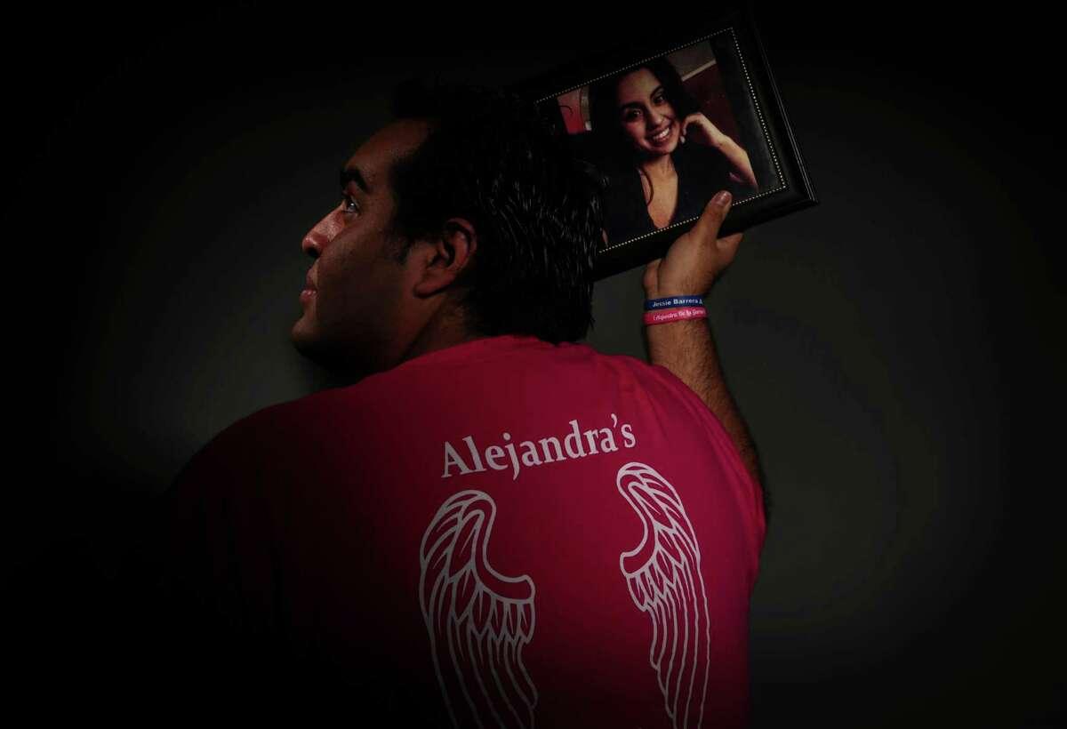 Juan de la Garza lost his sister, Alejandra de la Garza Vega, in a drunken driving crash with her husband.