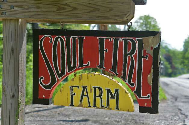 Sign at the entrance to Soul Fire Farm Thursday June 11, 2015 in Grafton, NY.   (John Carl D'Annibale / Times Union) Photo: John Carl D'Annibale / 00032258A