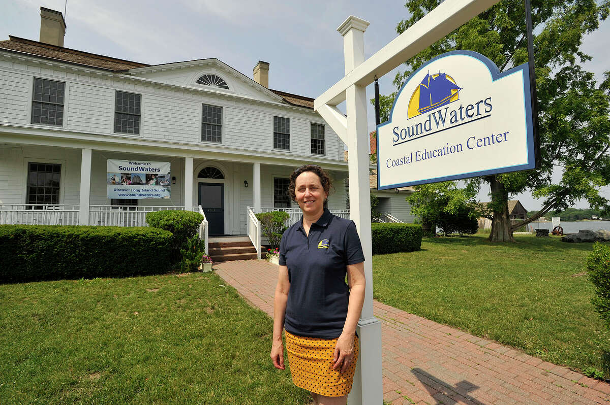 Leigh Shemitz is the president and executive director of SoundWaters on Cove Island in Stamford.