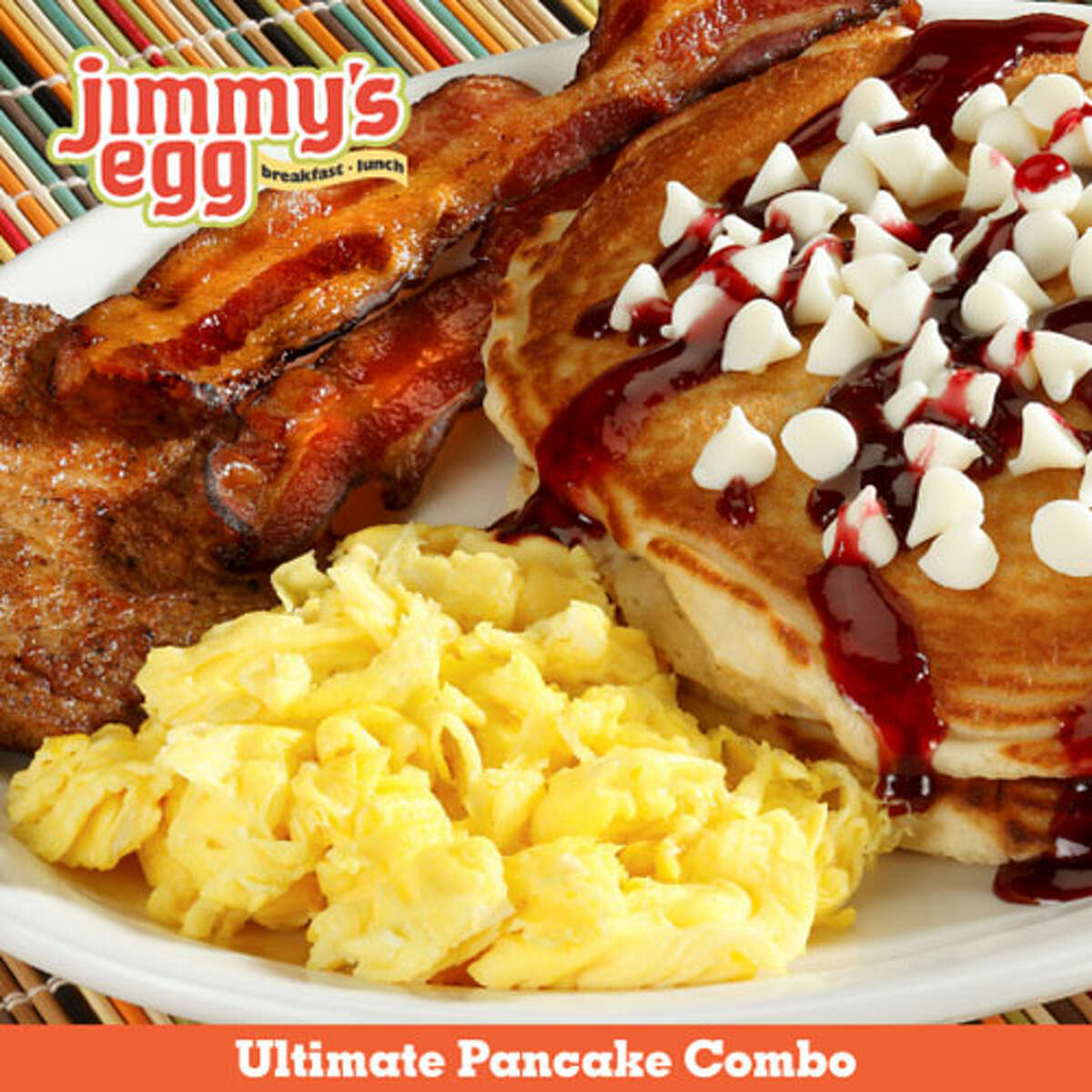 Jimmy's Egg- Best Breakfast With two locations in San Antonio, Jimmy's Egg offers more than 40,000 ways to create an omelet.