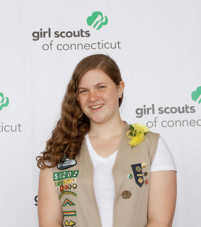 Bridget Smith of Stamford recently received her Girl Scout Gold Award. Photo: Contributed / Contributed / Stamford Advocate