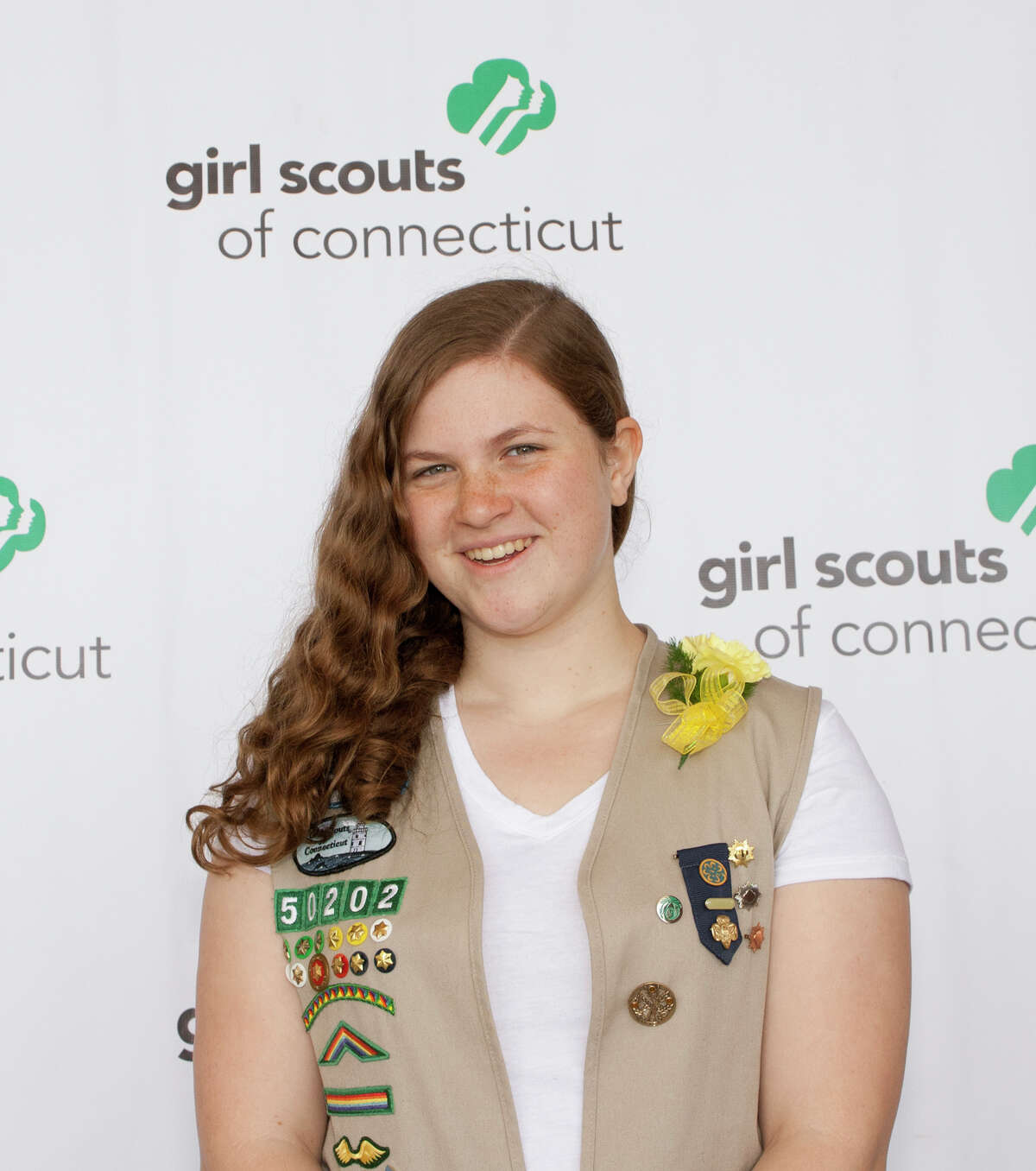 Bridget Smith of Stamford recently received her Girl Scout Gold Award.