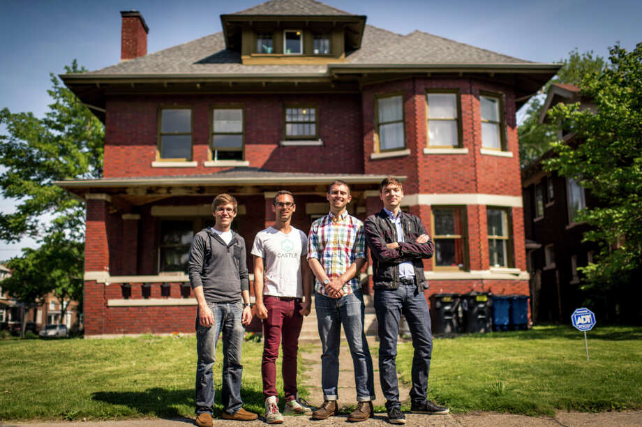 This group of millennials used assistance to turn this old house into a work space and living space for startup companies. Photo: Zillow / © Joe Vaughn