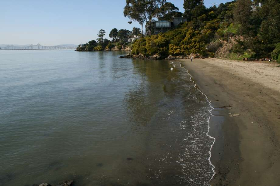 FILE - Keller Beach in Point Richmond. Heal the Bay's annual pollution study gave the beach a C grade for the dry season and a D grade for the wet season.