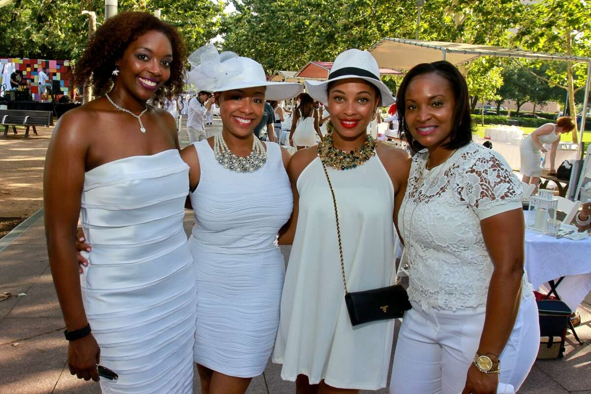 Ayan Martin, from left, Olivia Lawdins, Naja Cossey and Cedrina Ruffin