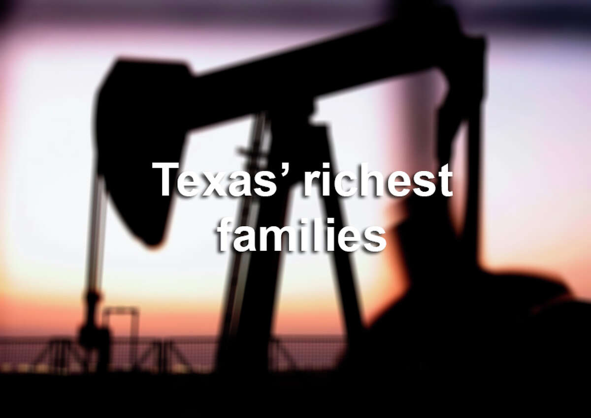 Click through the gallery to see the richest families in Texas, how much they're worth and how they got their wealth.