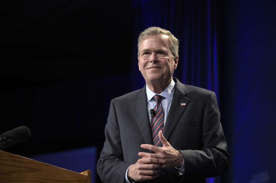 Former Florida Gov. Jeb Bush Photo: Phelan M. Ebenhack, Associated Press