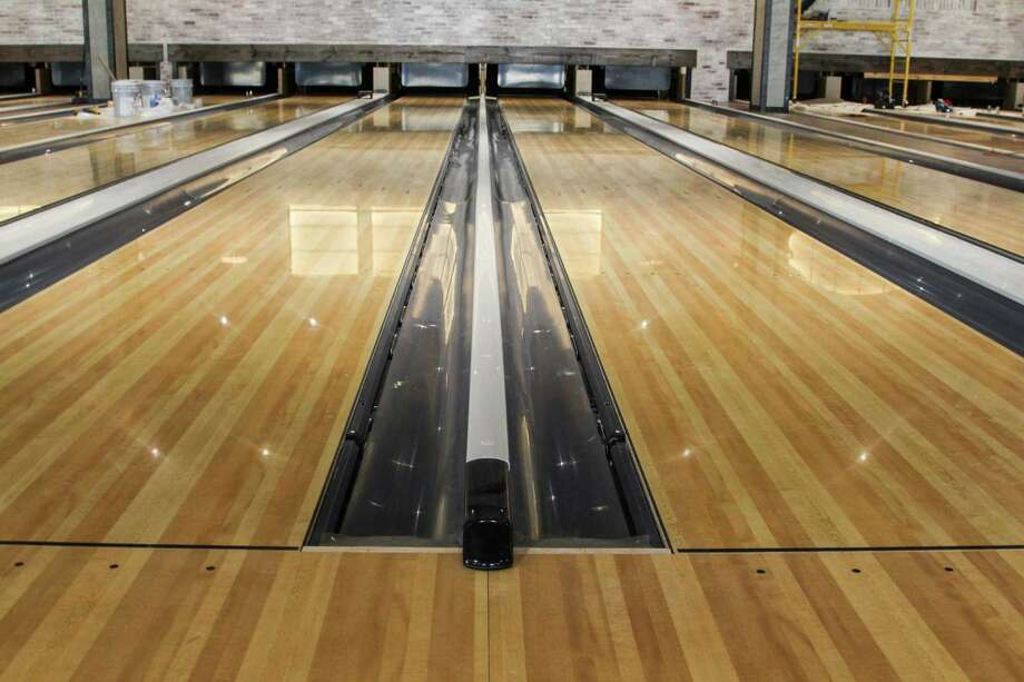 Bowl & Barrel, a boutique bowling alley with a European beer hall style, will open soon at The Rim in North San Antonio. Photo: Tyler White/SAEN