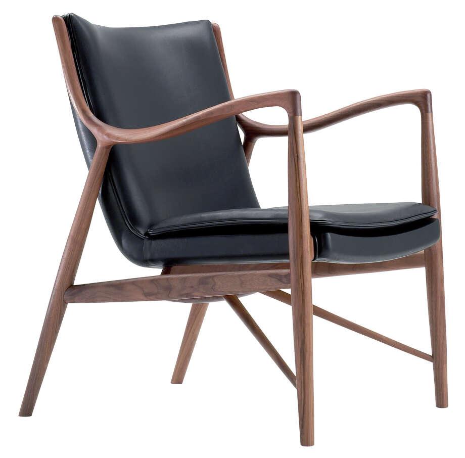 The 45 Chair from Danish designer  Finn Juhl Photo: Courtesy Finn Juhl / ONLINE_YES