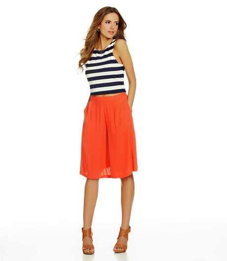 1. Throwback culottes