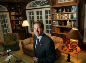 Connecticut Attorney General, Richard Blumenthal, posed in his Greenwich home, Monday, March 8th, 2010.  Blumenthal will be running for the U.S. Senate seat vacated by the retirement of fellow Democrat Christopher Dodd.