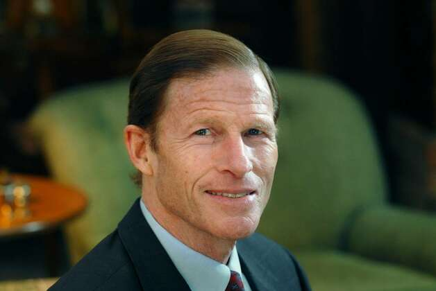 Connecticut Attorney General, Richard Blumenthal, posed in his Greenwich home, Monday, March 8th, 2010.  Blumenthal will be running for the U.S. Senate seat vacated by the retirement of fellow Democrat Christopher Dodd. Photo: Bob Luckey / Stamford Advocate