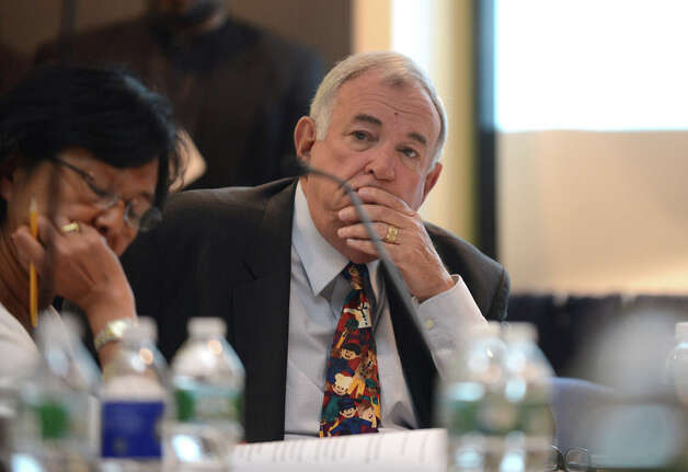 Regents member Roger Tilles listens to comments during a Board of Regents meeting Monday afternoon, June 15, 2015, at the State Education Building in Albany, N.Y. (Will Waldron/Times Union) Photo: WW, Albany Times Union