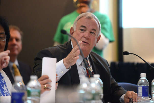 Regents member Roger Tilles comments during a Board of Regents meeting Monday afternoon, June 15, 2015, at the State Education Building in Albany, N.Y. (Will Waldron/Times Union) Photo: WW, Albany Times Union