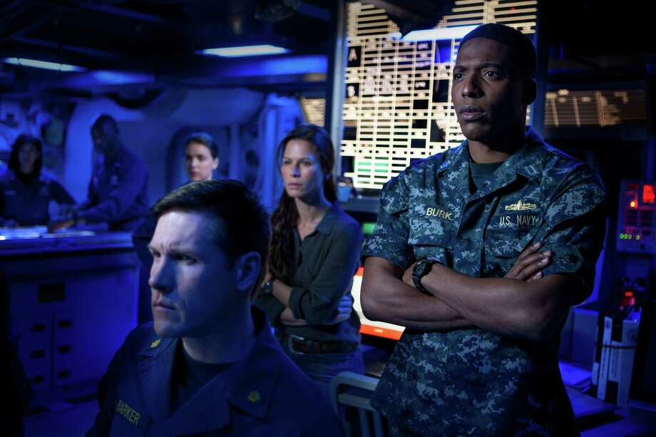 Jocko Sims of San Antonio co-stars with Britain's Rhona Mitra in  TNT action thriller 'The Last Ship.'  June, 2015 Photo: Karen Ballard / TNT