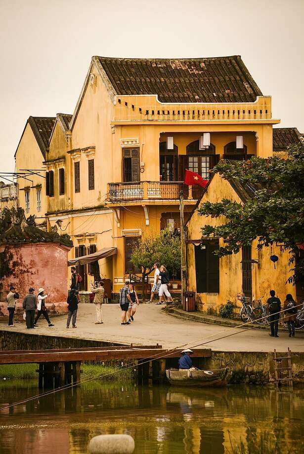 Hoi An, once Vietnam's most important center of trade, still bears the architectural traces of its Chinese, Japanese and European merchants. Photo: Jill K. Robinson, Special To The Chronicle