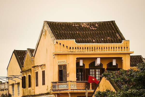 The riverside town of Hoi An was once the most important center of trade in Vietnam.