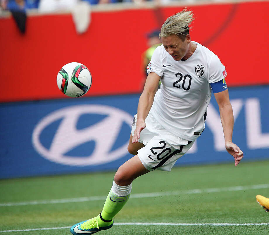 On Friday, for the first time since 2003, all-time leading U.S. scorer Abby Wambach came off the bench in a World Cup match. Photo: John Woods, SUB / CP