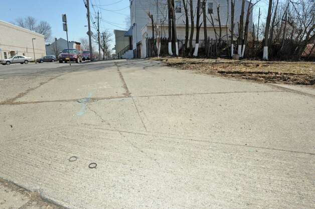 """Lark Street and Second Street the area where Donald """"Dontay"""" Ivy died after he was Tased and then chased by police on Thursday April 2, 2015 in Albany, N.Y. (Michael P. Farrell/Times Union) Photo: Michael P. Farrell / 00031286A"""