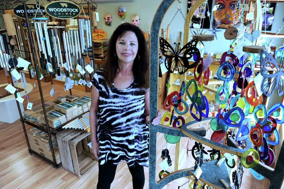 Leslie Gera, longtime owner of Mother Earth Gallery, has moved her business from Brookfield's Four Corners to a new location in New Milford. Photo: Carol Kaliff / Hearst Connecticut Media / The News-Times File Photo