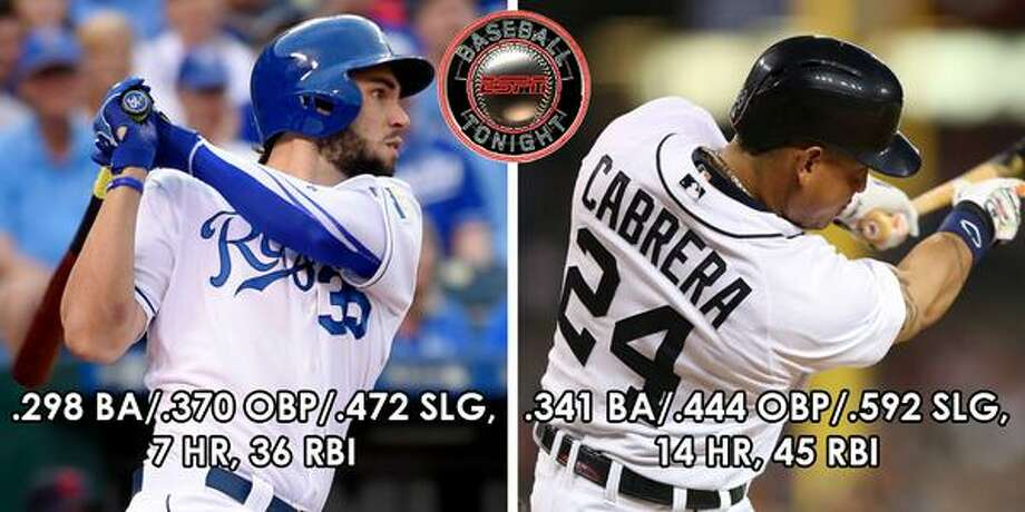 FIRST BASEKansas City's Eric Hosmer vs. Detroit's Miguel Cabrera Photo: