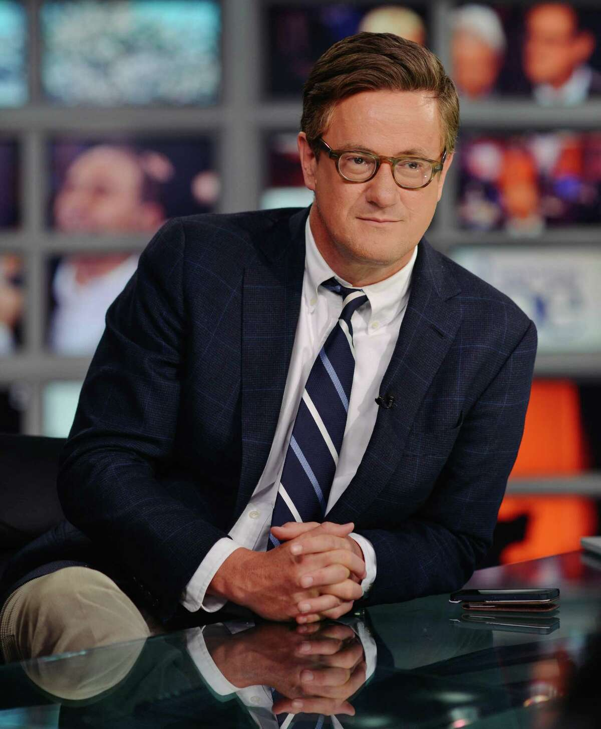 """Some Democrats have complained that Joe Scarborough, host of MSNBC's """"Morning Joe,"""" has been using his show to further his political ambitions."""