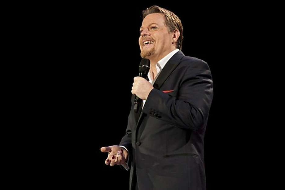 "Eddie Izzard in his solo show ""Force Majeure"" Photo: Amanda Searle"