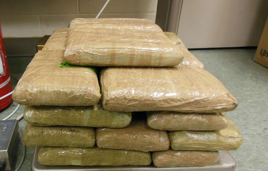 U.S. Customs and Border Patrol seized almost 50 pounds of methamphetamine on June 14, 2015.